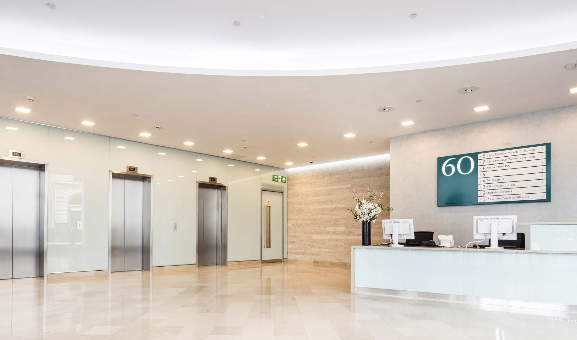 Sixty Gresham Street Reception